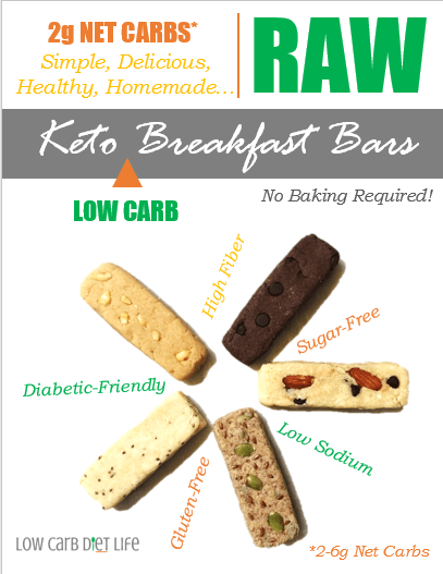 Keto Breakfast Bars Recipe