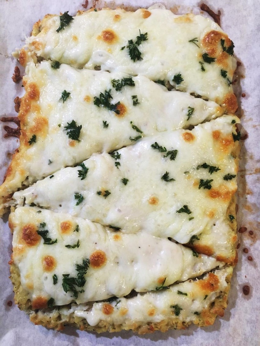 White Garlic Chicken Pizza Recipe