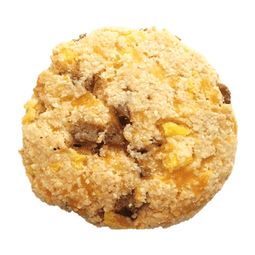 sausage egg cheese keto biscuits
