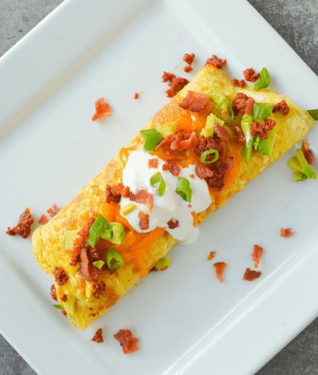 Keto Chorizo Omelette