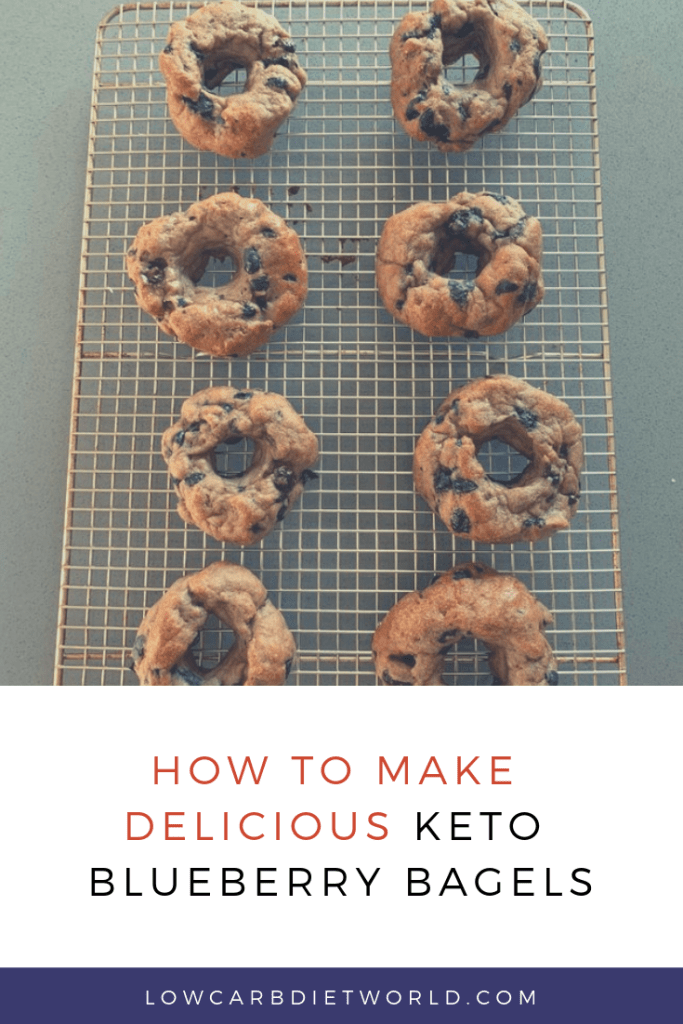 Keto Blueberry Bagels