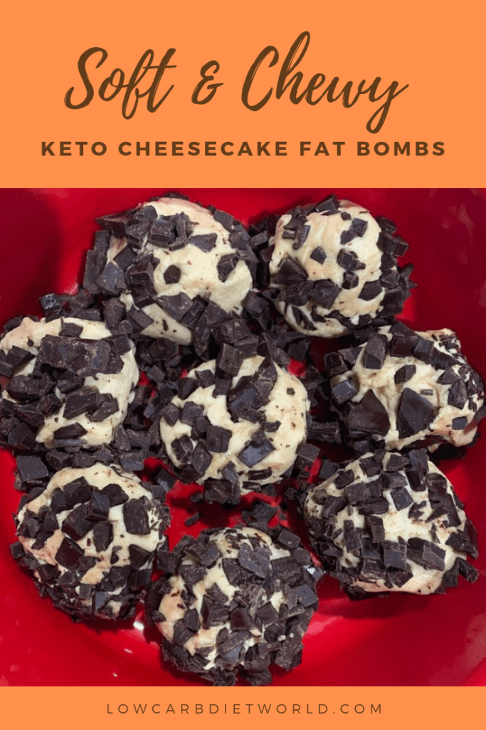 KETO CHEESECAKE FAT BOMBS