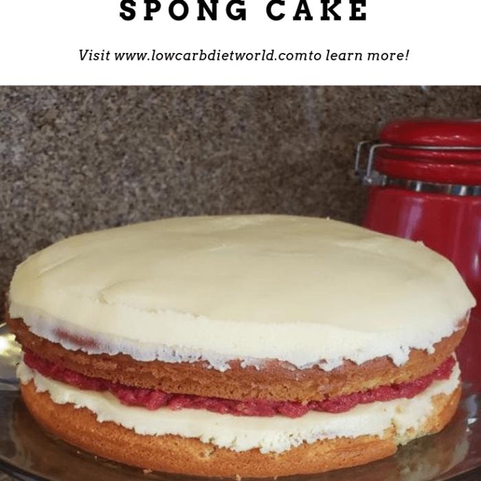 Keto Victoria Spong Cake