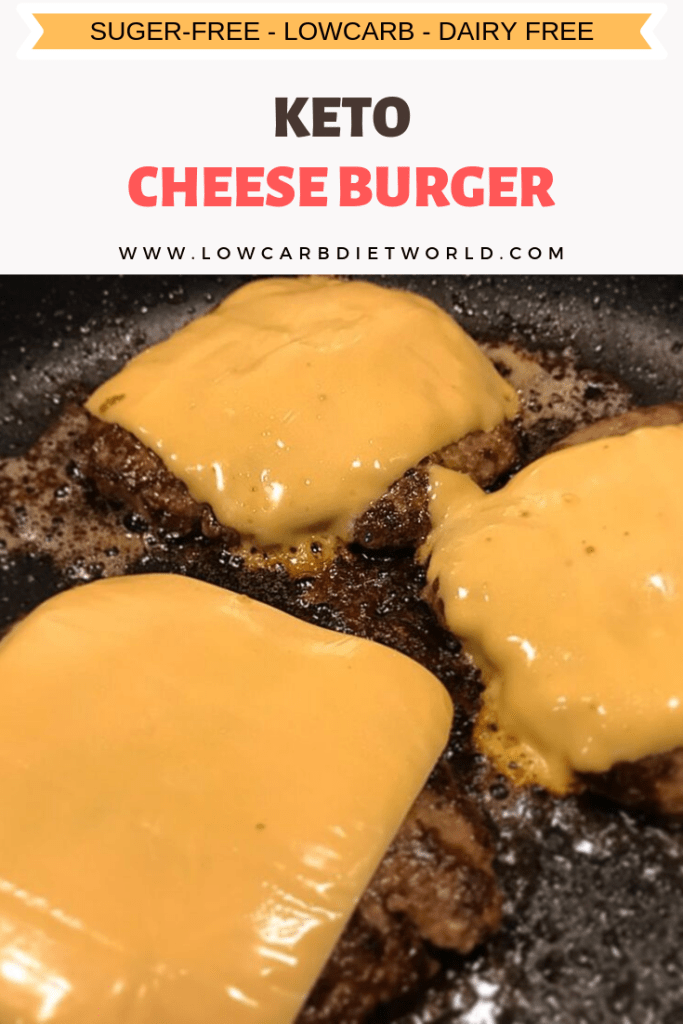 Keto Cheeseburger