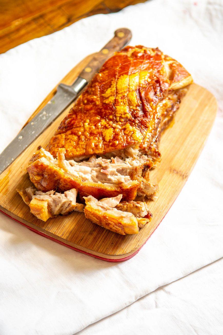 Recette Poitrine De Porc Croustillante : recette, poitrine, croustillante, Délicieuse, Poitrine, Croustillante, Low-Carb, Frenchie, Sport, Alimentation, Cétogène