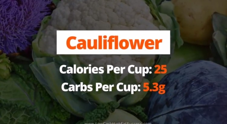 Cauliflower - calories, carbs, and health benefits low carb food
