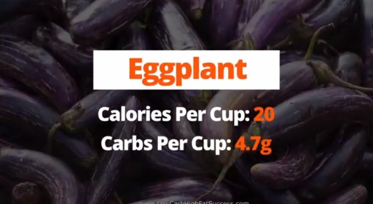 Eggplant - calories, carbs, and health benefits as a low carb food