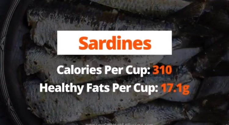 Sardines - calories, fats, health benefits low carb food