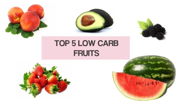 TOP 5 low carb fruits
