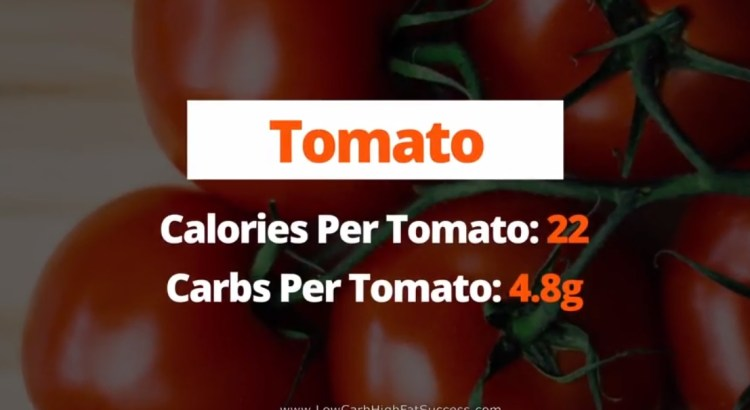 Tomato - calories, carbs, and health benefits low carb food