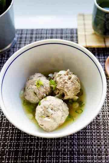keto japanese Meatball (Dango) Soup cover