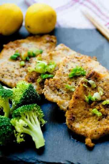 keto Asian Garlic Pork Chops cover