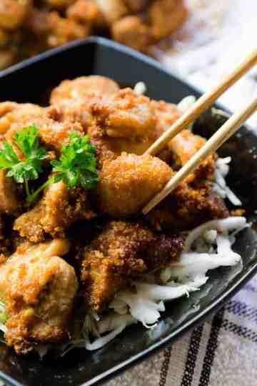Keto Karrage Japanese Fried Chicken Cover