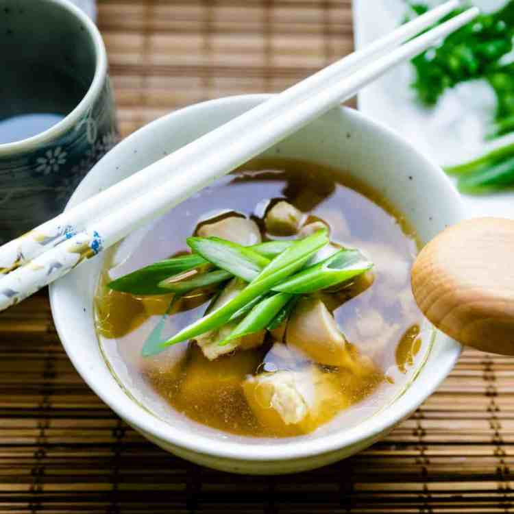 keto japanese Japanese Chicken Soup cover
