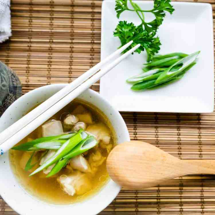 keto japanese Japanese Chicken Soup pic