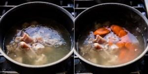 Keto Japanese Chicken Soup Ozoni Recipe (16)