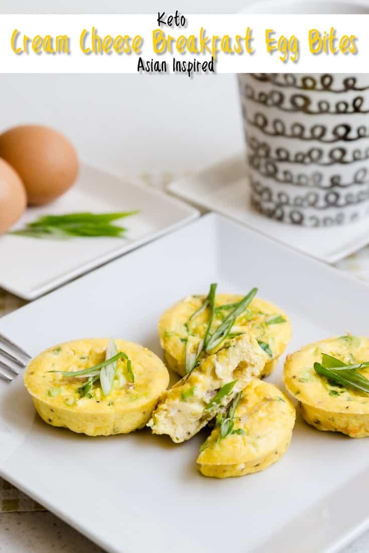 Asian Cream Cheese Breakfast Egg Bites LowCarbingAsian Pin 3