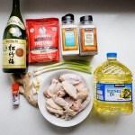 Fried Japanese Garlic Chicken Wings - Tebasaki Age