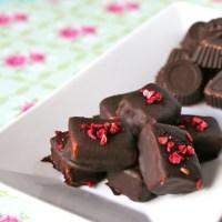Fyldt chokolade - LCHF style, naturligvis! ;)