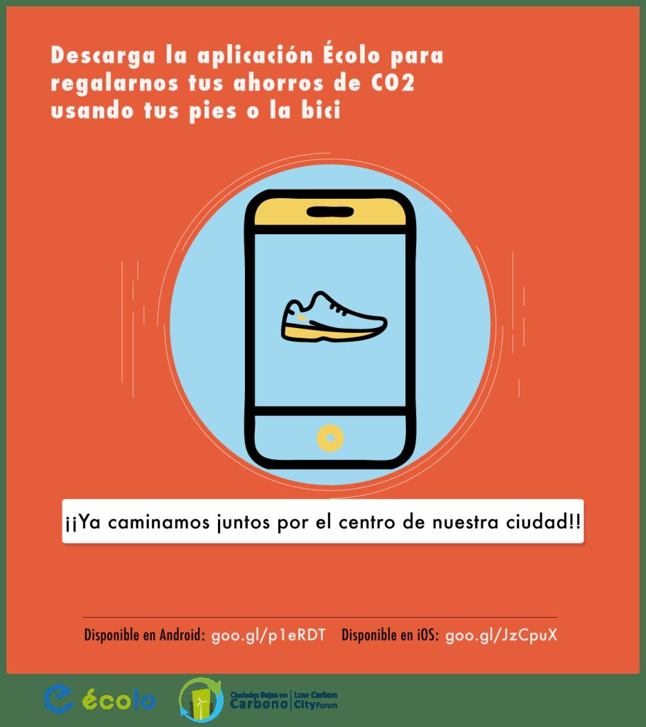 Lanzamiento campaña de ahorro de CO2 con la app Écolo Bike
