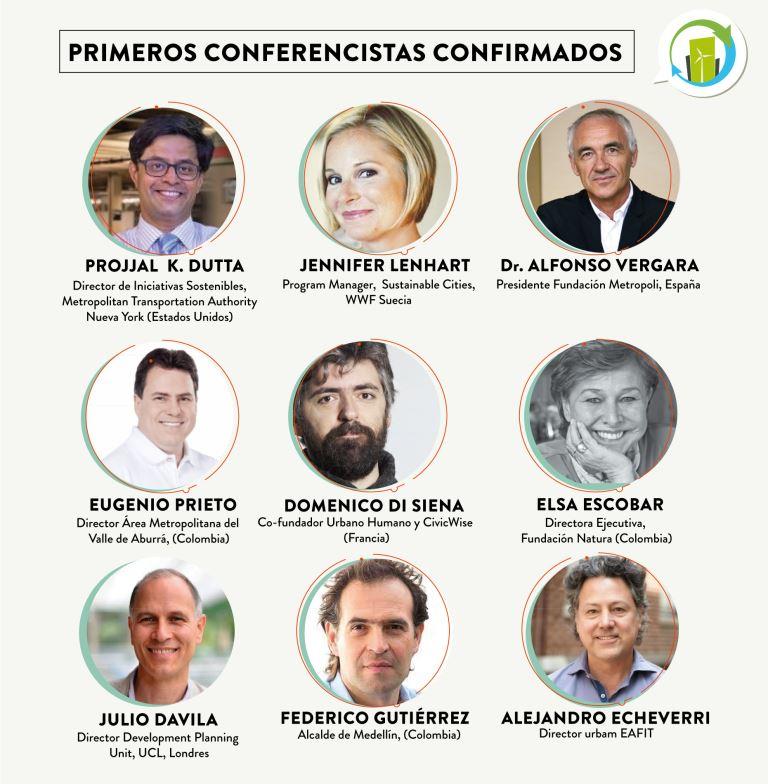 ¡Anuncio de los primeros conferencistas confirmados!