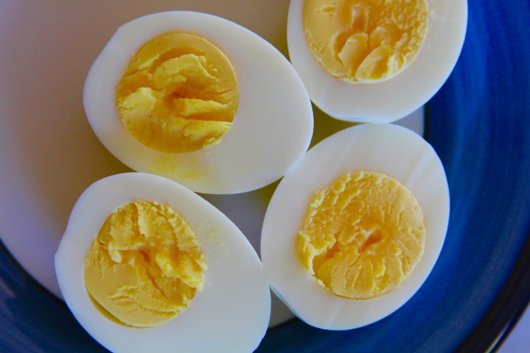 Perfect Yolk Hard Cooked Eggs