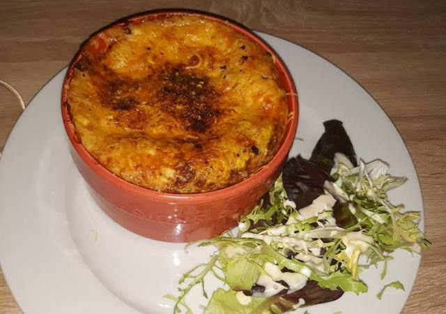 low-carb lasagne for dinner
