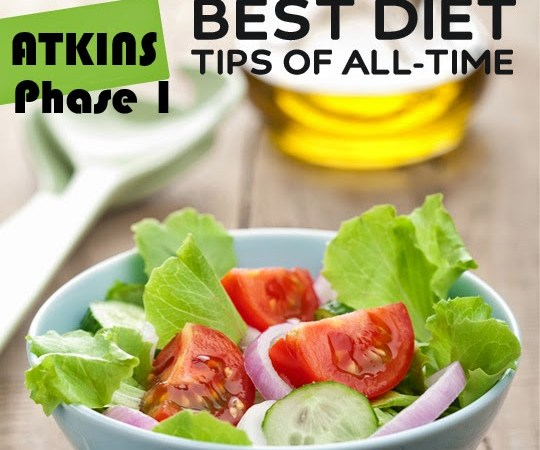LIST OF LOW CARB FOODS FOR ATKINS 20 – Phase 1