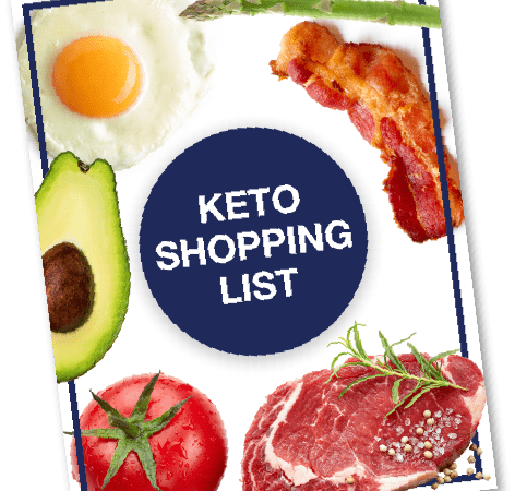 KETO FOOD SHOPPING LIST