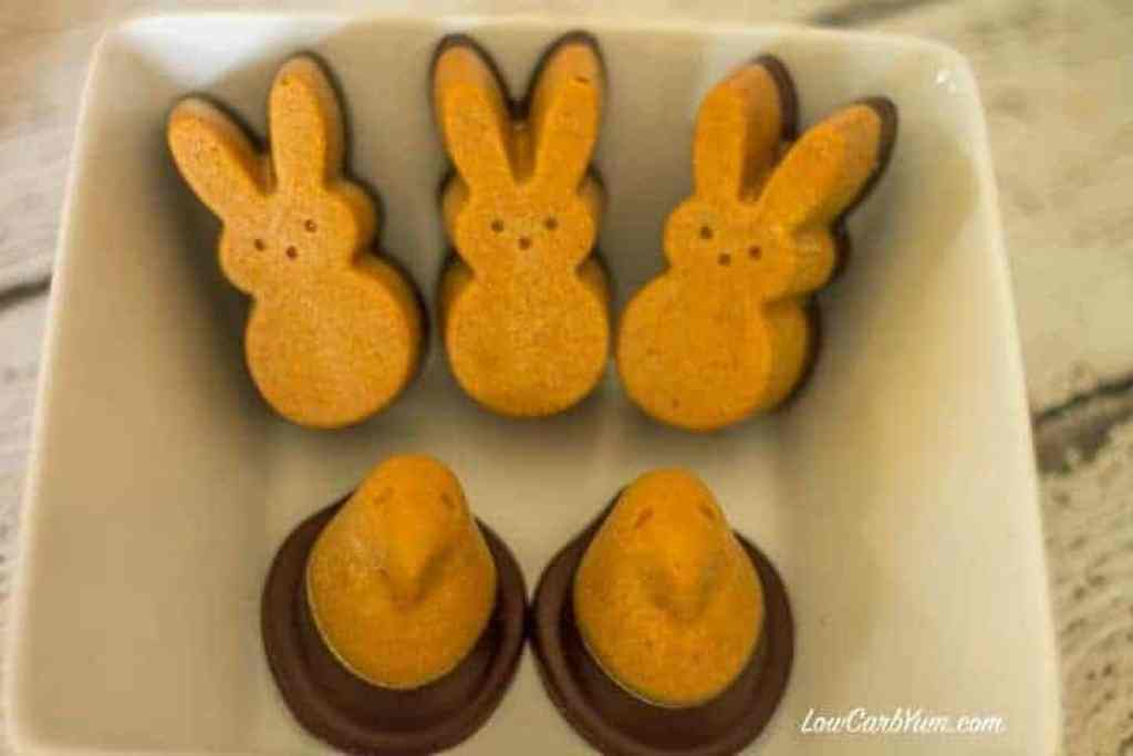 Peeps Chocolate Peanut Butter Molded Candy