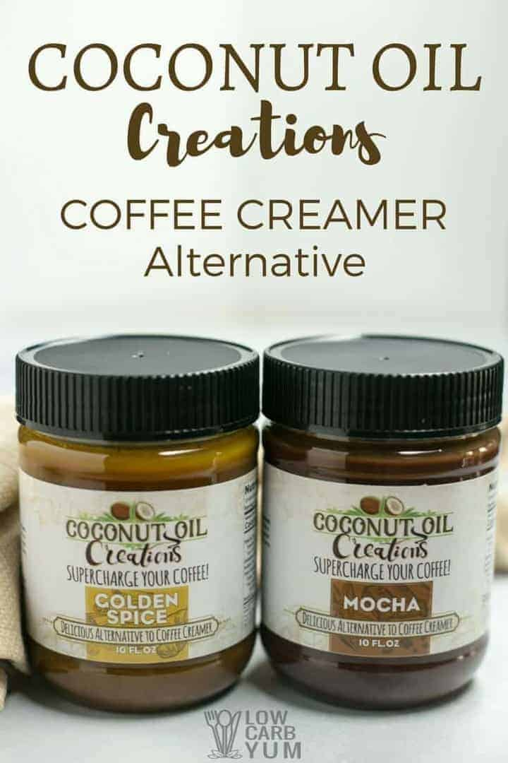 coconut oil coffee creamer alternative for keto diet low carb yum