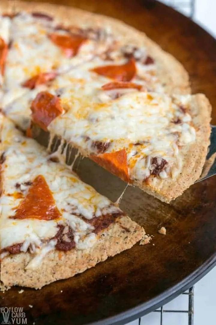 Keto Low Carb Almond Flour Pizza Crust