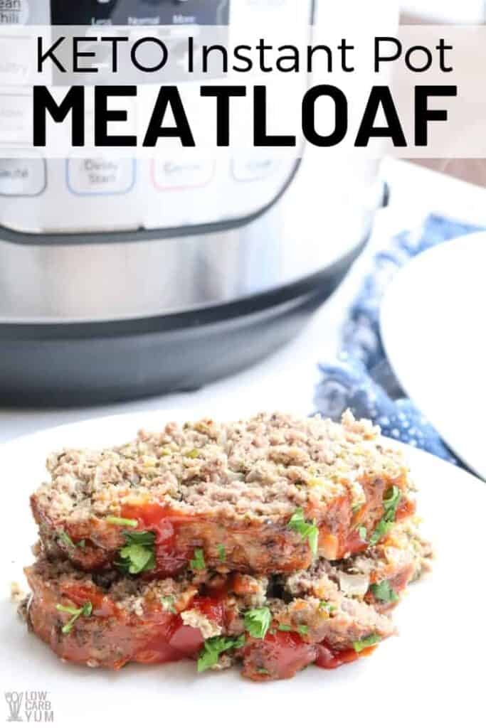 Instant Pot meatloaf recipe