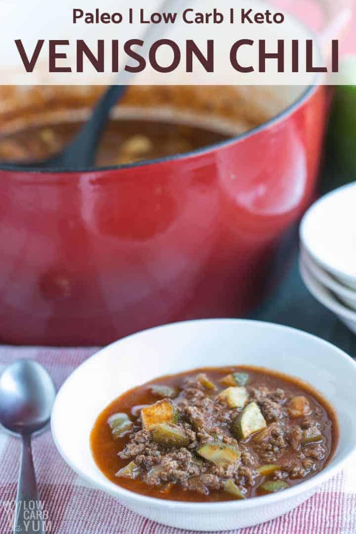 Low Carb Venison Steak Recipes : venison, steak, recipes, Venison, Chili, Stovetop, Cooker, Recipe