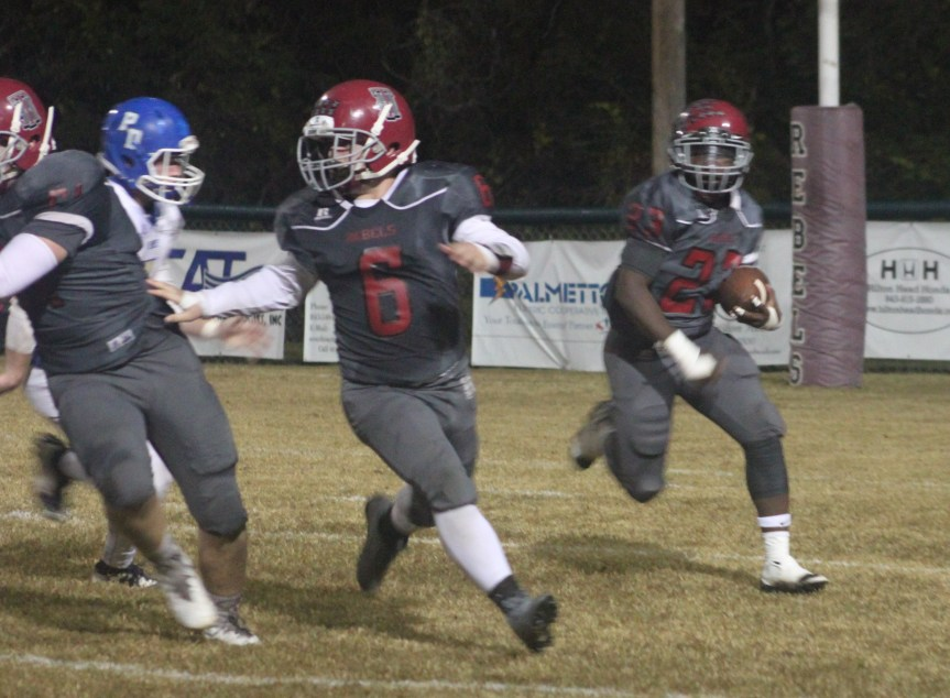 HSFB: Eagles' Late Rally Ends Rebels' Title Chase