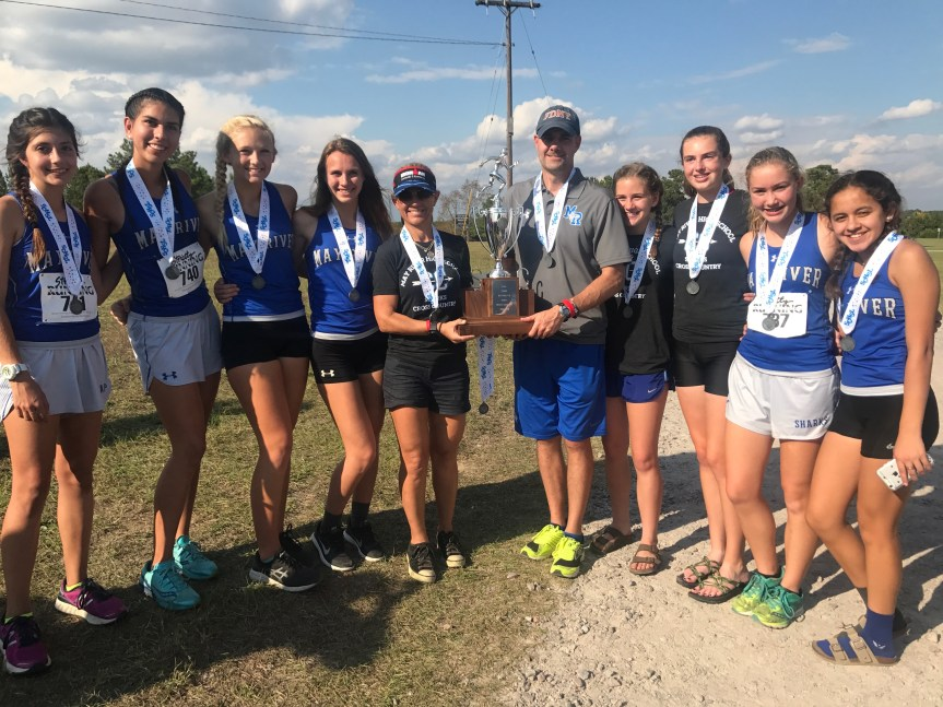HSXC: Sharks, Bobcats Finish In Top 3 Among Class 3A Girls Teams