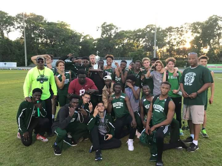 HS T&F: Beaufort Sweeps Region 8-4A Crowns