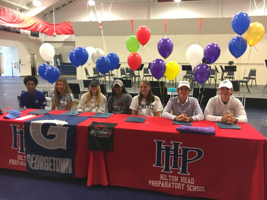 Seven Hilton Head Prep Students Sign To Compete At Next Level