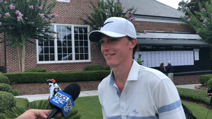 Golf: Georgia Tech's Schniederjans Off To Hot Start At Players Amateur