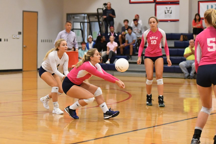 HSVB: HHCA Wraps Up Perfect Region Season With Win Over HHP