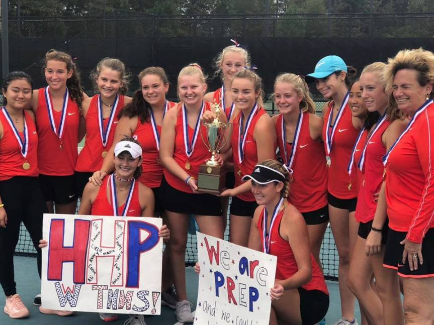 HS Tennis: Dominant Dolphins Claim SCISA 2A Title