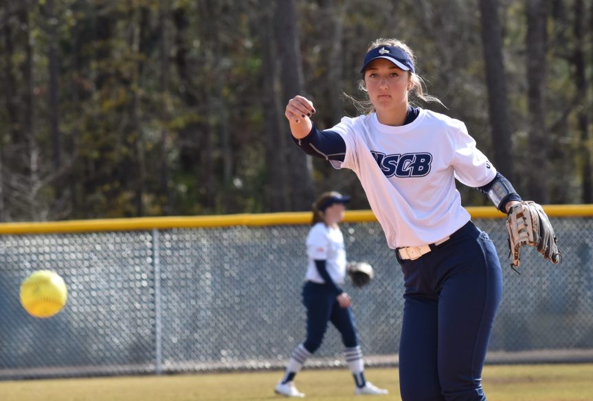 USCB Softball Opens Season With Sweep Of Koalas
