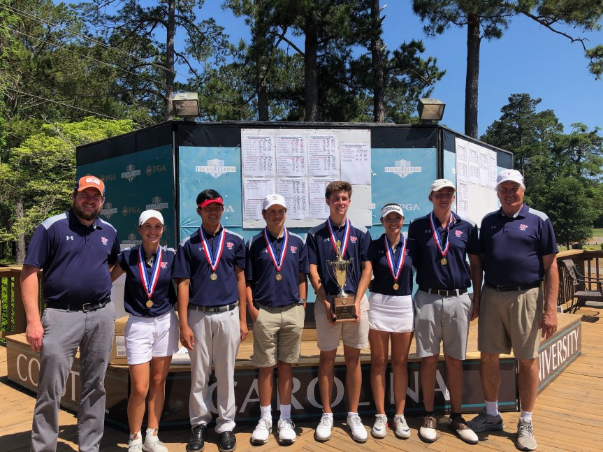 HS Golf: Herman, Dolphins Edge Eagles For SCISA 2A Title
