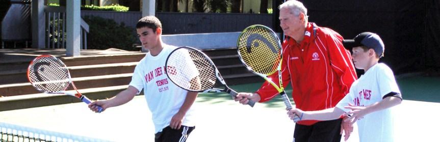 Tennis World Mourns Loss Of HHI's Dennis Van der Meer