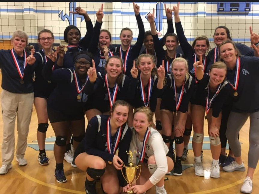 HSVB: BA sweeps to state championship