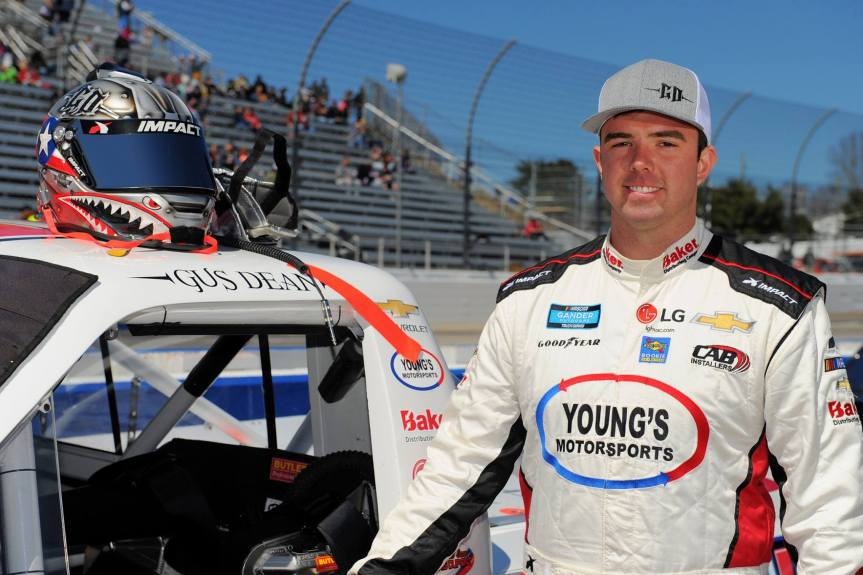 NASCAR driver Gus Dean to speak at next ACL meeting