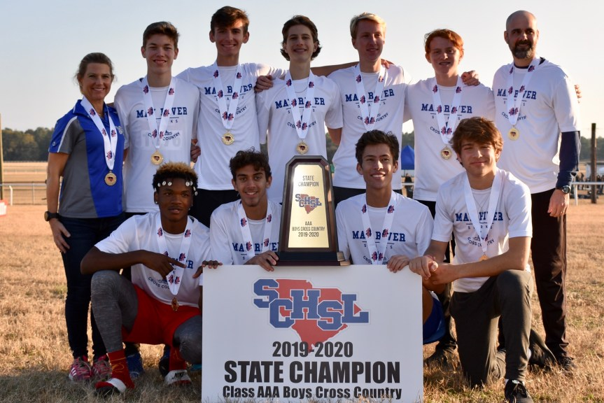 HSXC: May River boys breeze to first state title