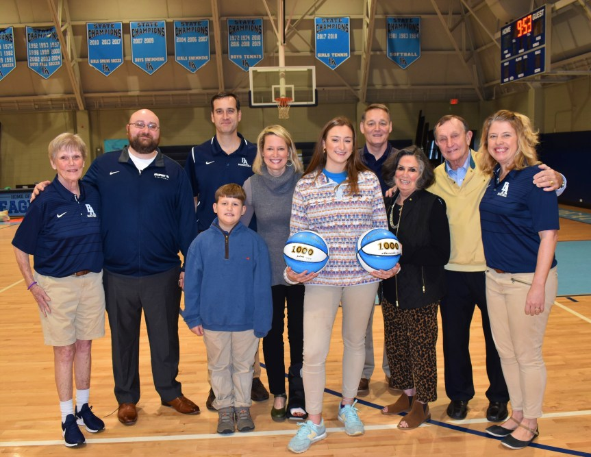 Sitting Down With … Amelia Huebel and Lillian Aldred, BA girls basketball