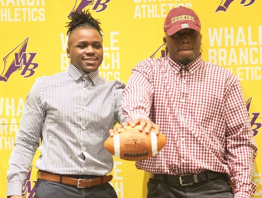 HSFB: Warriors' Hazel, Frazier sign with Flying Fleet