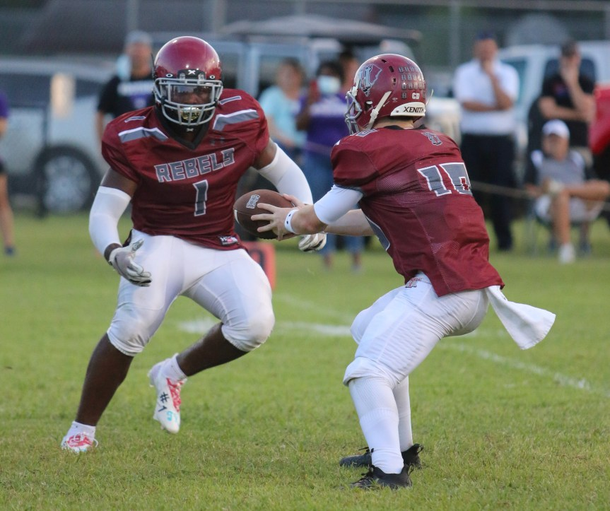 HSFB: THA too much for Titans in clash of state champs